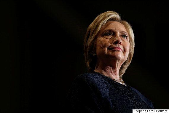 힐러리 클린턴의 선거전략이 전혀 먹혀들지 않고