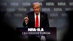 전미총기협회, 트럼프 지지를