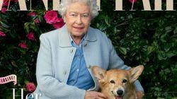 엘리자베스 영국 여왕, '베니티 페어' 표지모델
