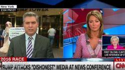 CNN 생방송에 거대한 페니스가
