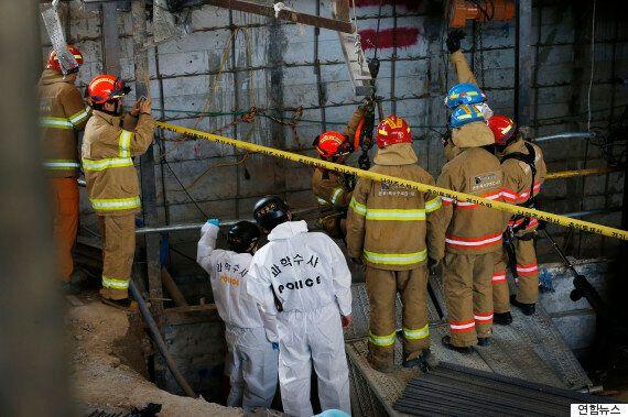 건설현장 일용직 노동자들의 안전은 아무도 지켜주지