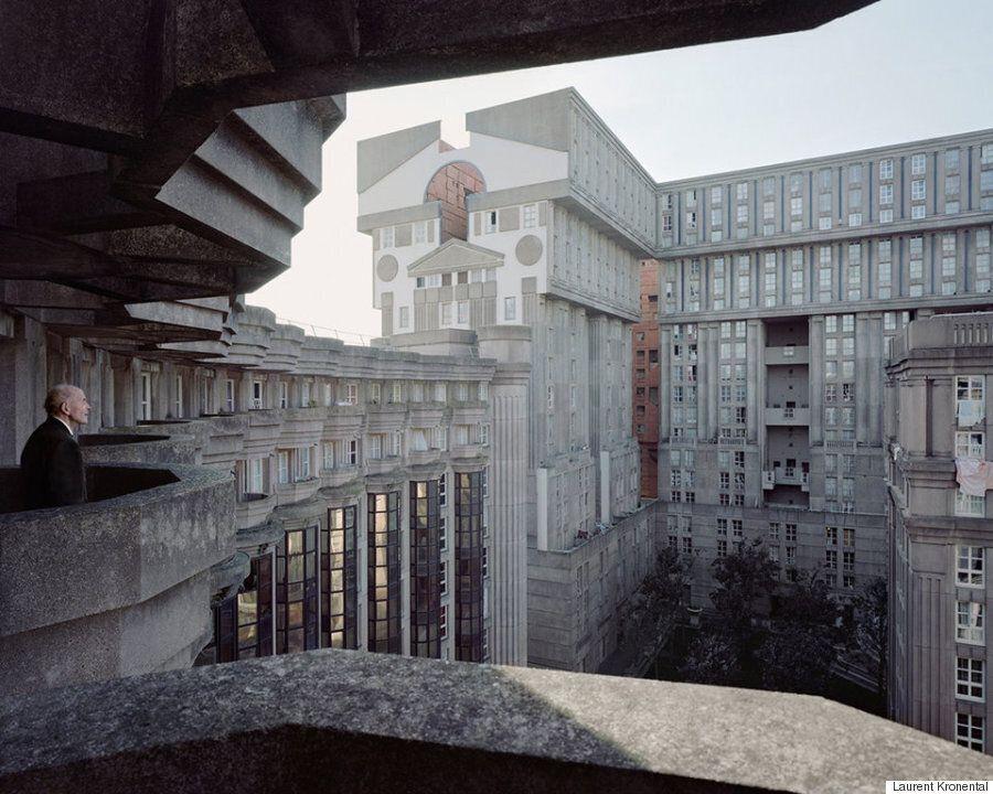 콘크리트로 지은 파리의 유토피아에는 노인들이