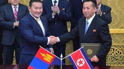 북한은 몽골에 식민지를 건설하려