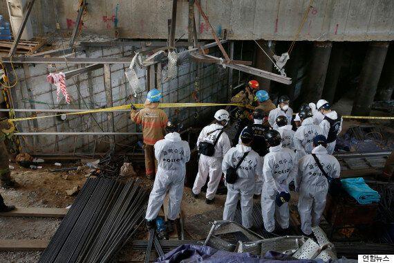 남양주 지하철 공사현장 붕괴사고 사상자 14명은 모두 일용직