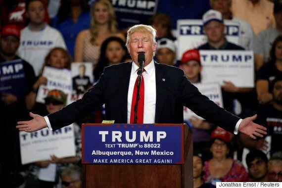 미국 밀레니얼 세대의 트럼프 지지율이 급등하고