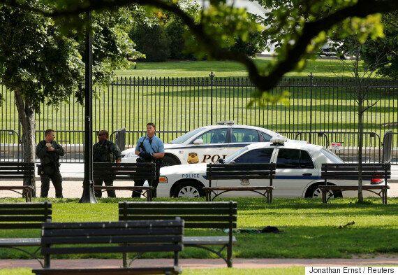 미국 백악관 경내에서 총격사건이