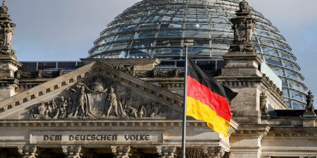 The Reichstag building, the seat of the lower house of parliament Bundestag is pictured in Berlin, Germany,...