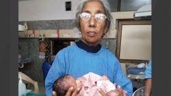 70세 여성이 '세계에서 가장 나이 많은 엄마'가 됐다