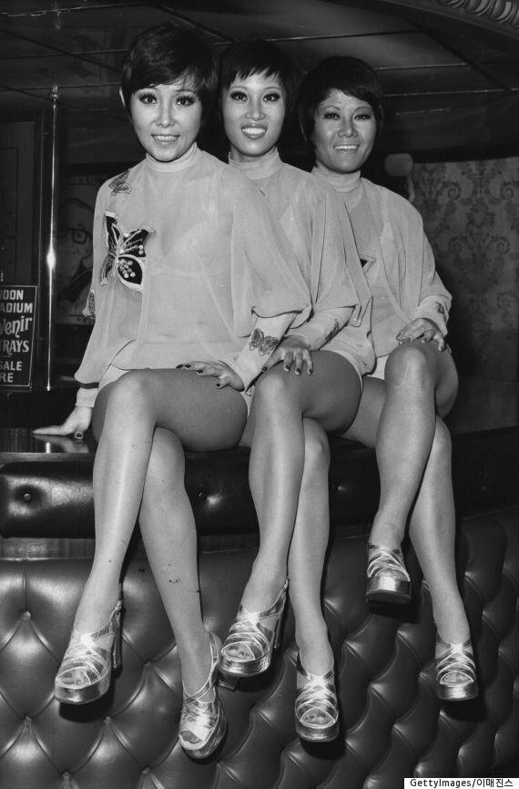 1960년대 베트남전에서도 걸그룹의 위문 공연이 열렸다