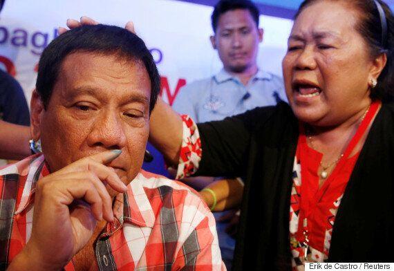 '필리핀의 트럼프' 두테르테 후보, 대통령 당선