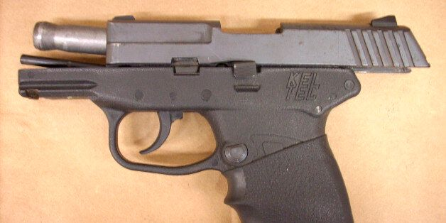 The handgun used in the shooting death of Trayvon Martin is seen this handout photo provided by the State...