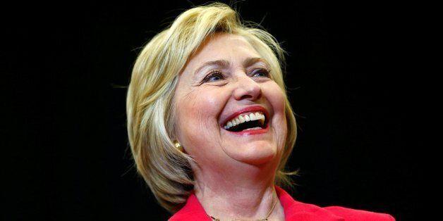 U.S. Democratic presidential candidate Hillary Clinton speaks at Transylvania University in Lexington,...