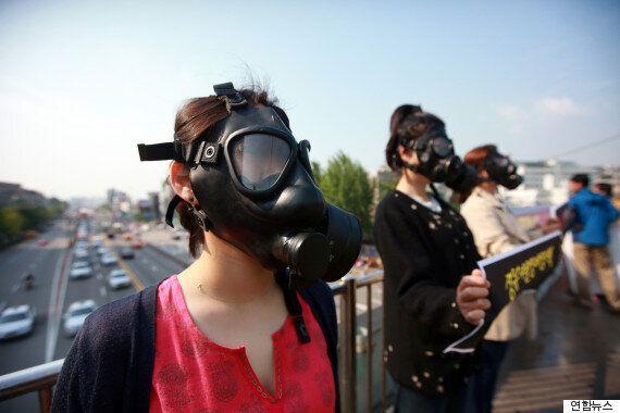한국의 공기질이 정말 '최악'임을 보여주는