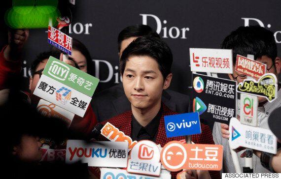 송중기 출연하는 중국 예능프로의 암표