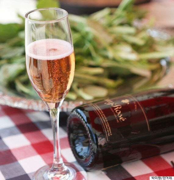 오미자로 만든 와인이