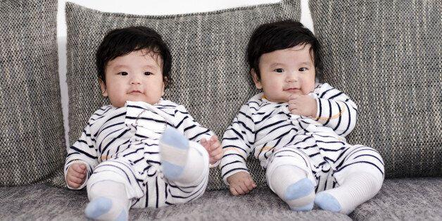 쌍둥이를 29% 더 가능케 하는 2개 유전자가