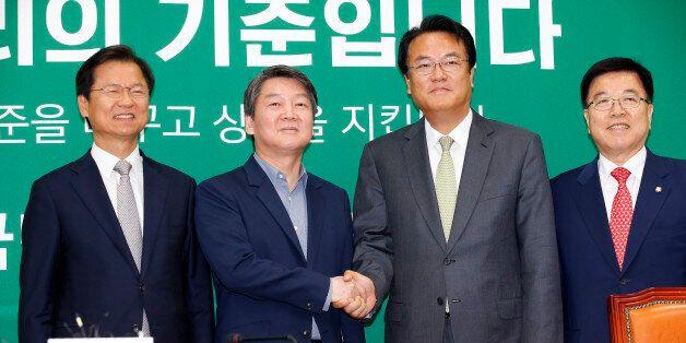 새누리당 새 원내대표 정진석, 더민주는 10분·국민의당은 60분