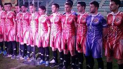 어느 스페인 축구팀의 유니폼은 정말 놀랍다(사진,