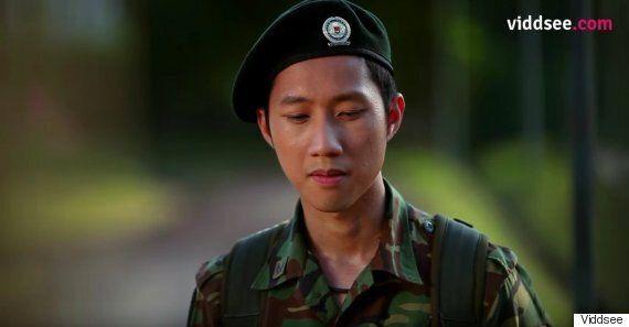 게이 싱가포르 군인의 이야기를 다룬 단편 '퍼플