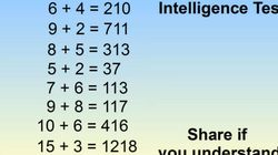 '간단한 IQ 테스트'라는 이 퀴즈를 풀어보자 (사진,
