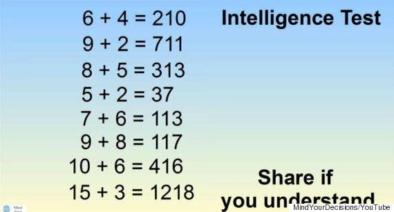 '간단한 IQ 테스트'라는 고난이도의 퀴즈를 풀어보자 (사진,