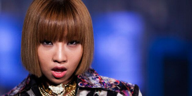 Minzy, a member of the South Korean band 2NE1, poses for a portrait in New York August 20, 2012. REUTERS/Lucas...
