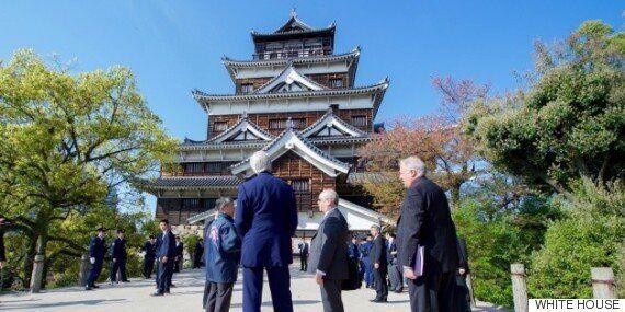 오바마 대통령이 미국 현직 대통령 최초로 히로시마를 방문하는