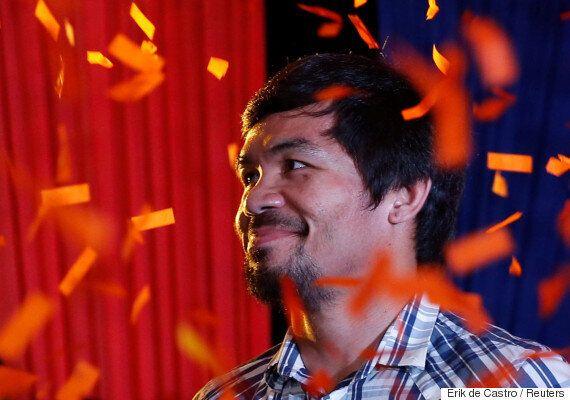 매니 파키아오, 필리핀 상원 선거 당선이