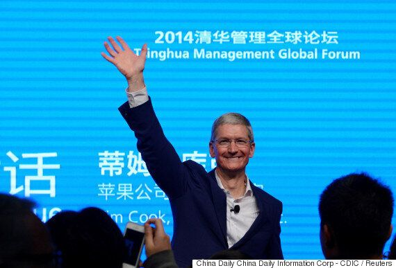 팀 쿡 애플 CEO가 '마지막 큰 시장' 인도에