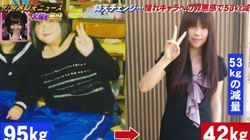 이 여성은 건담 캐릭터 때문에 53kg를 감량했다 (사진,