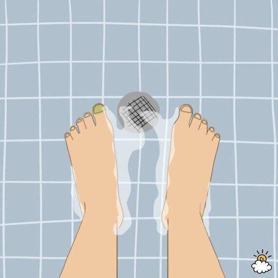 당신이 평생 잘 못 해 온 샤워 습관