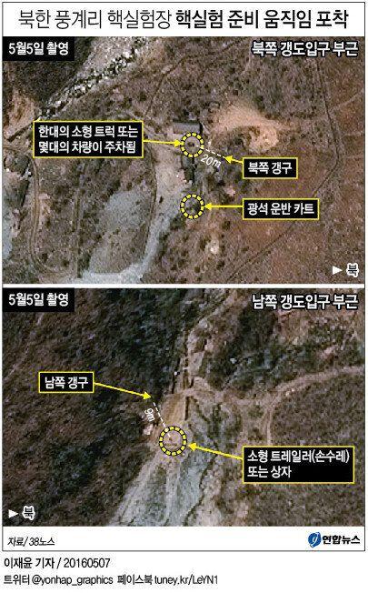 북한의 '5차 핵실험' 준비 징후가