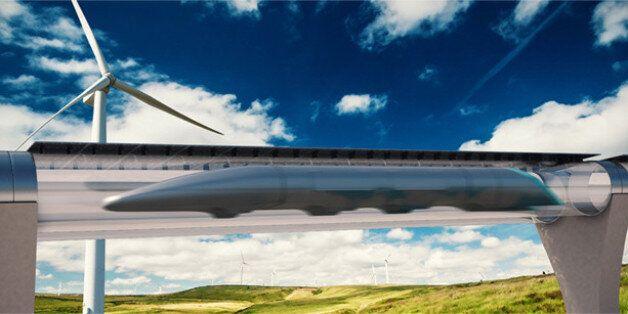 시속 1200km로 달리는 열차 '하이퍼루프'의 시대가 가까워오고