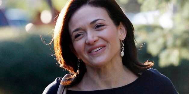Facebook COO Sheryl Sandberg arrives for the first session of the annual Allen and Co. conference at...