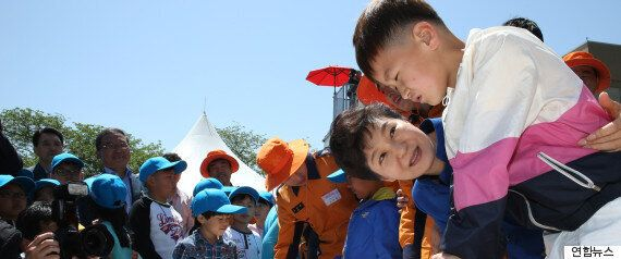 어린이날을 맞이한 박근혜 대통령의 한