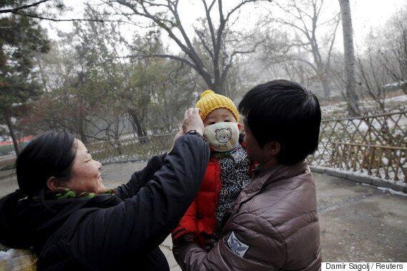 지구상에서 공기 오염이 가장 심한 도시