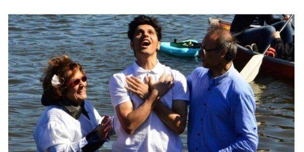 함부르크 공원에서 세례받는