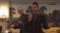 '스타워즈 데이'를 축하하는 오바마 부부의