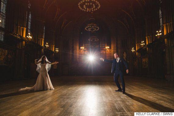 '해리포터' 테마로 결혼식을 올린