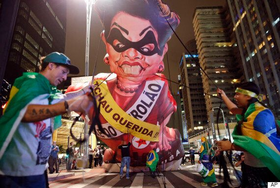 브라질 호세프 대통령 탄핵심판이