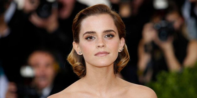 Actress Emma Watson arrives at the Metropolitan Museum of Art Costume Institute Gala (Met Gala) to celebrate...