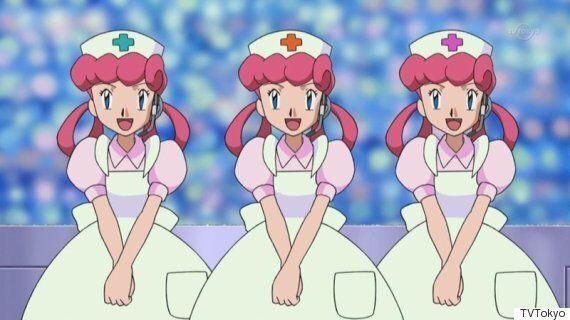 '포켓몬스터'의 간호순 누나는 간호사가