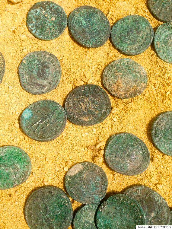 스페인 공사현장서 수십억원 가치 로마 동전 무더기