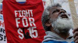 이 도시는 최저 임금을 인상한 지 1년이 됐지만 물가 인상은 거의