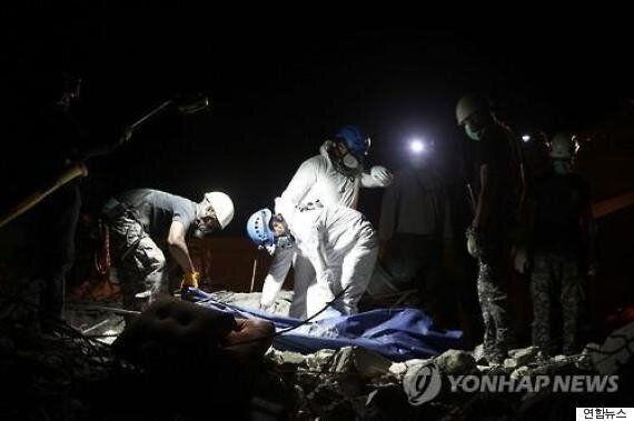 `엎친데 덮쳐' 또 규모 6.1 여진 강타...공포에 휩싸인