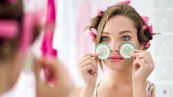 매일 아침 여자의 피부를 빛나게 할 아주 간단한 습관