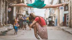 쿠바의 전설적인 발레리나들이 거리에서 춤을