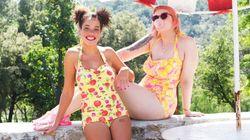 몸매에 대한 긍정을 위해 수영복 화보를 찍은 여성들