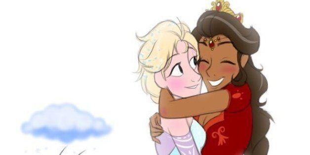 '겨울왕국2'에서 엘사에게 여자친구를 만들어 달라는 사람들의