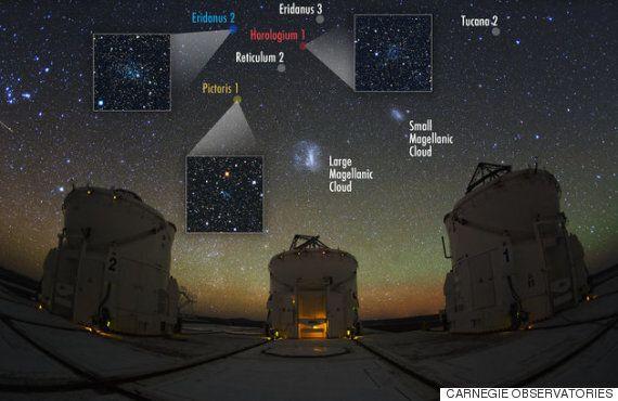 우리 은하계 주위를 공전하는 왜소은하가